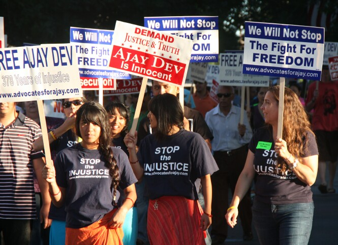 Ajay Dev Supporters to Rally at Appellate Court As Court Considers Appeal