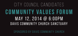 Community Values Forum with the City Council Candidates