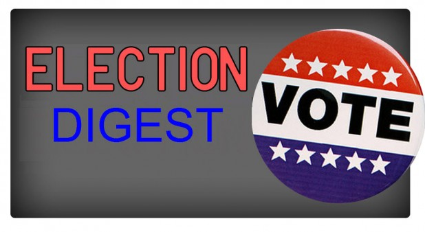 Election Digest: Poll Shows Dodd Ahead; School Board Events and More