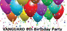 Looking for EIGHT More Sponsors For Vanguard 8th Birthday