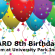 Reminder Vanguard 8th Birthday TONIGHT AT 6 PM