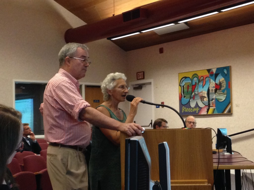 Matt Williams and Donna Lemongello explain their rate structure to council more last time