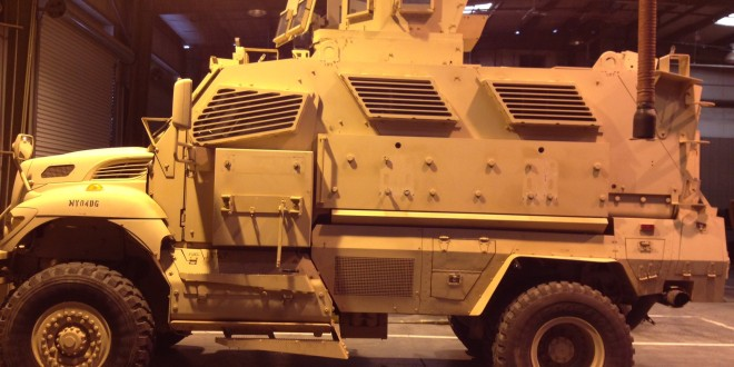 Analysis: MRAP Brings New York Times To Davis