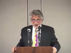 Maurice Possley addresses Vanguard 2012 Event in Woodland