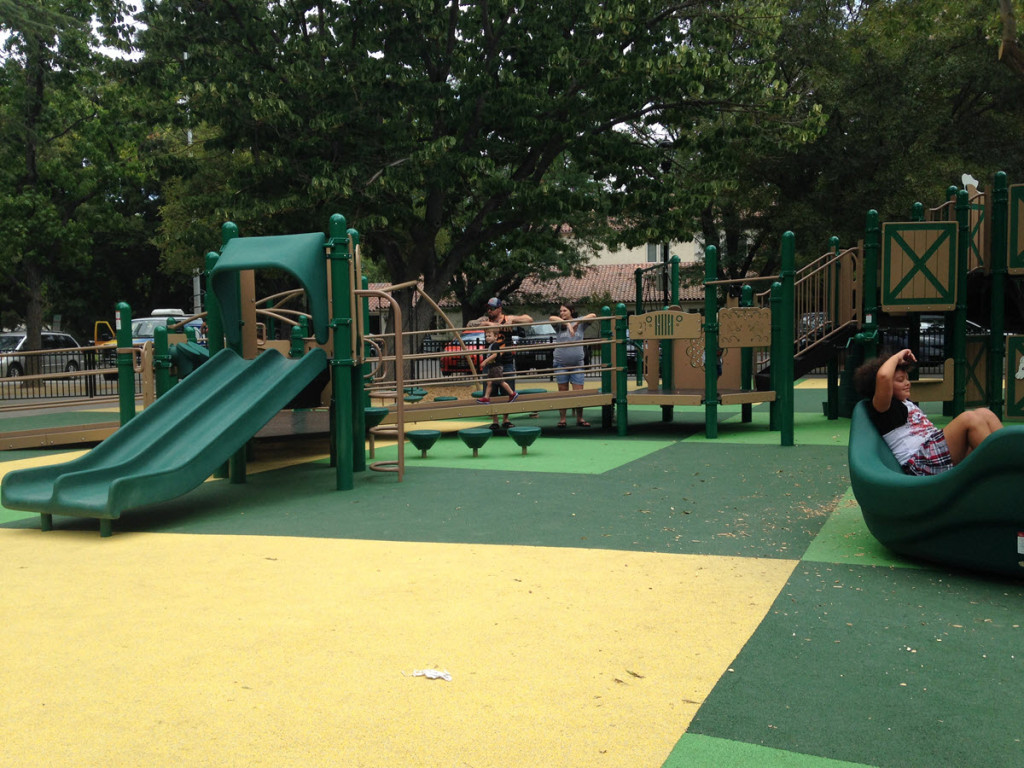 New playground at Central Park is the type of amenity we risk if we do not plan economic development.