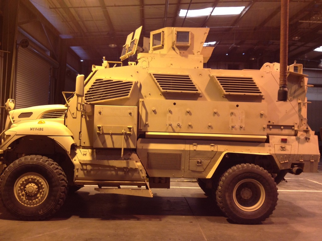 Yolo County Sheriff Requests Its Own MRAP