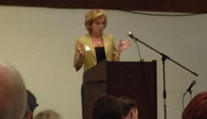 Chancellor Katehi delivers her vision for UC Davis in speech to Davis Chamber on Tuesday