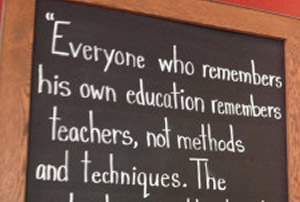 A Teacher's Reflections