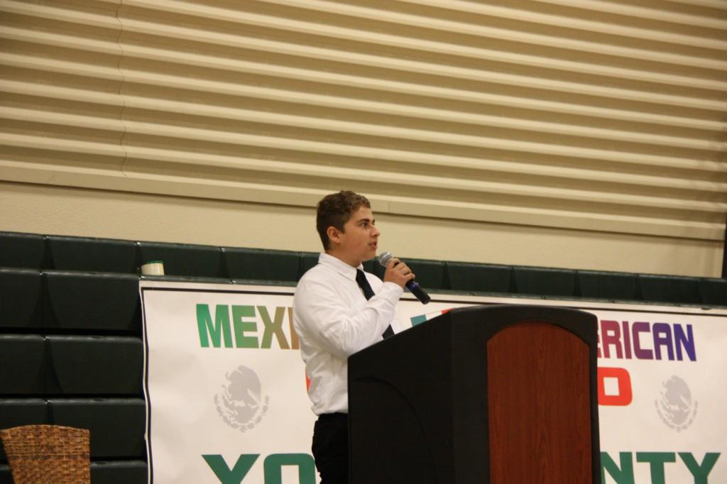 Winters High School Student Vic Maldonado