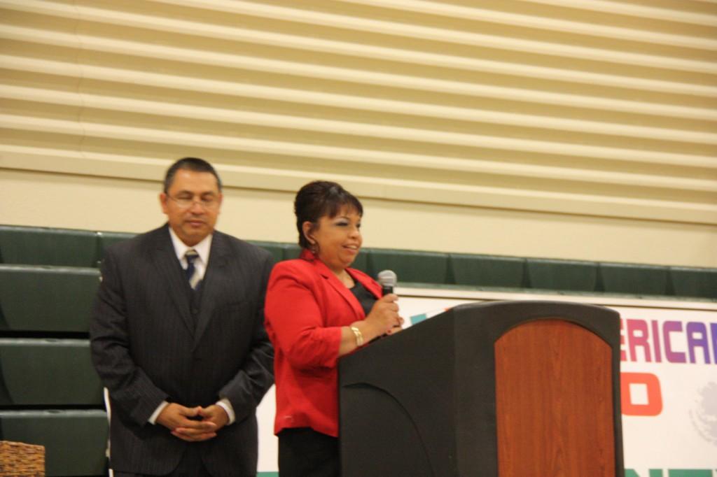 Community Award winner Josie Enriquez