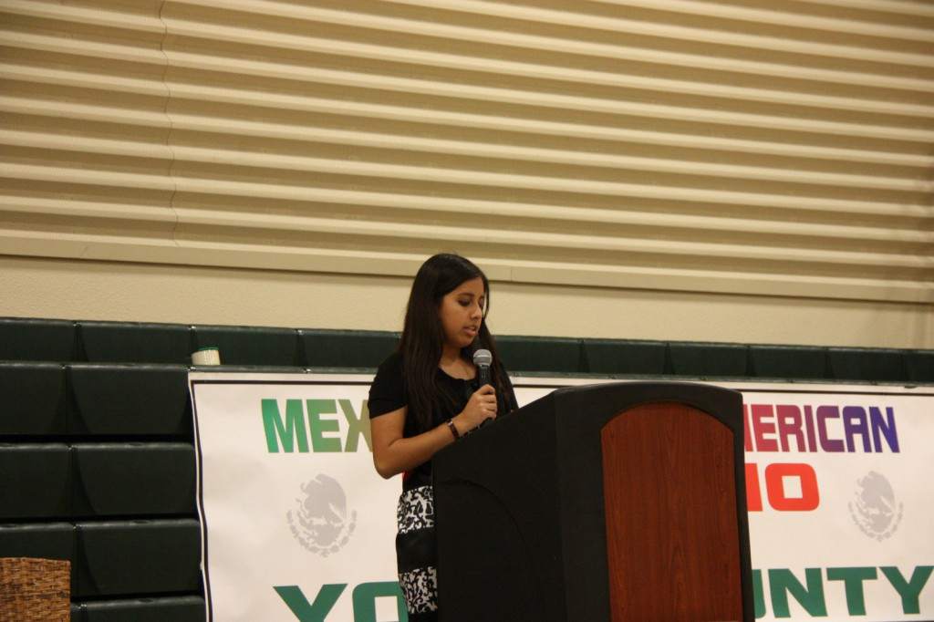 Esparto High School student Rachel Pina-Pinon