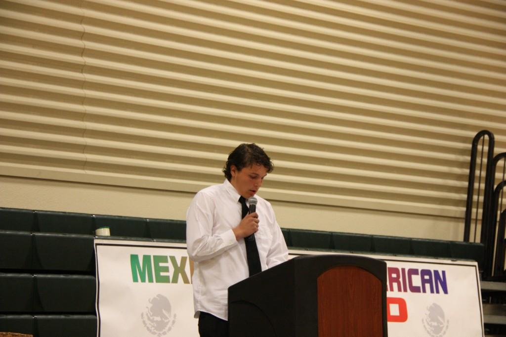 Esparto High School student Cesar Bermudez