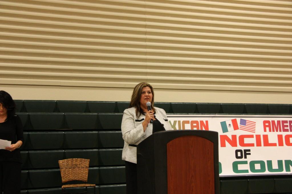 Education Award winner Hortencia Phifer