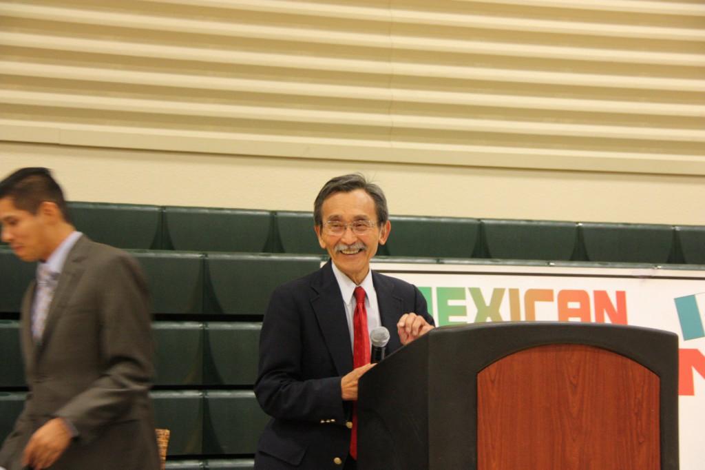 Lifetime Achievement Award winner Isao Fujimoto