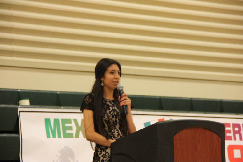 Woodland High student Andrea Ramirez