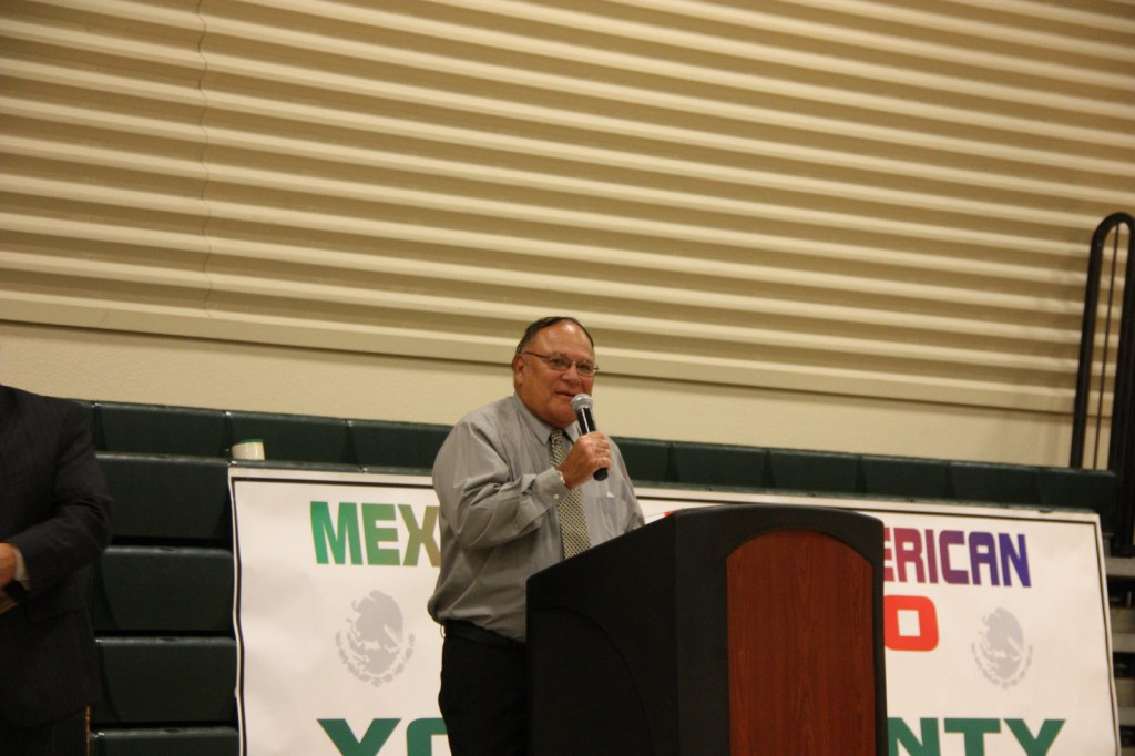 Rick Gonzales Jr. was the recipient of the Rick Gonzales Sr. Award