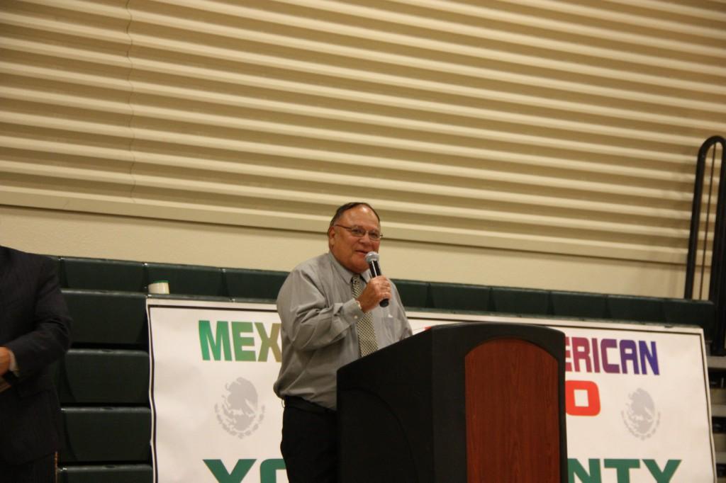 Rick Gonzales Jr. was the recipient of the Rick Gonzales Sr. Award