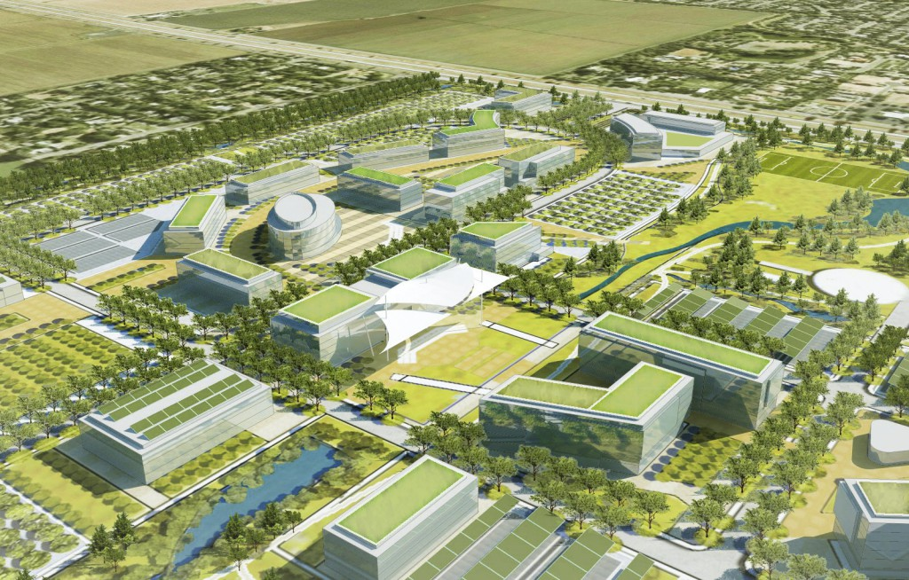 Davis Innovation Center is a proposed 4 million square foot Innovation Center north of Sutter Davis.