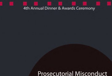 TODAY JOIN US FOR THE Prosecutorial Misconduct Event – November 15