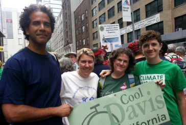 Locals Represent Davis Organizations at the People's Climate March