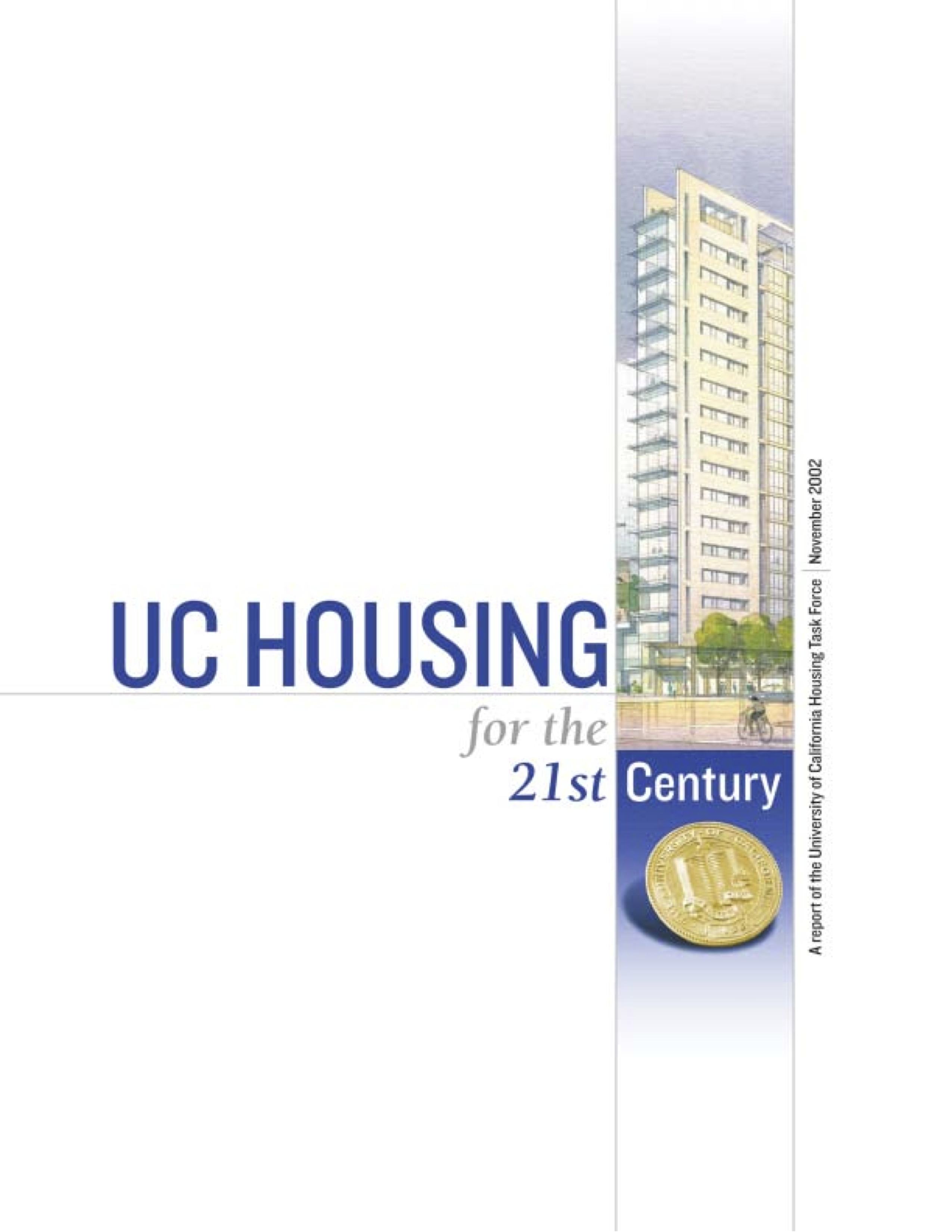 UC Housing in the 21st Century - Report Cover