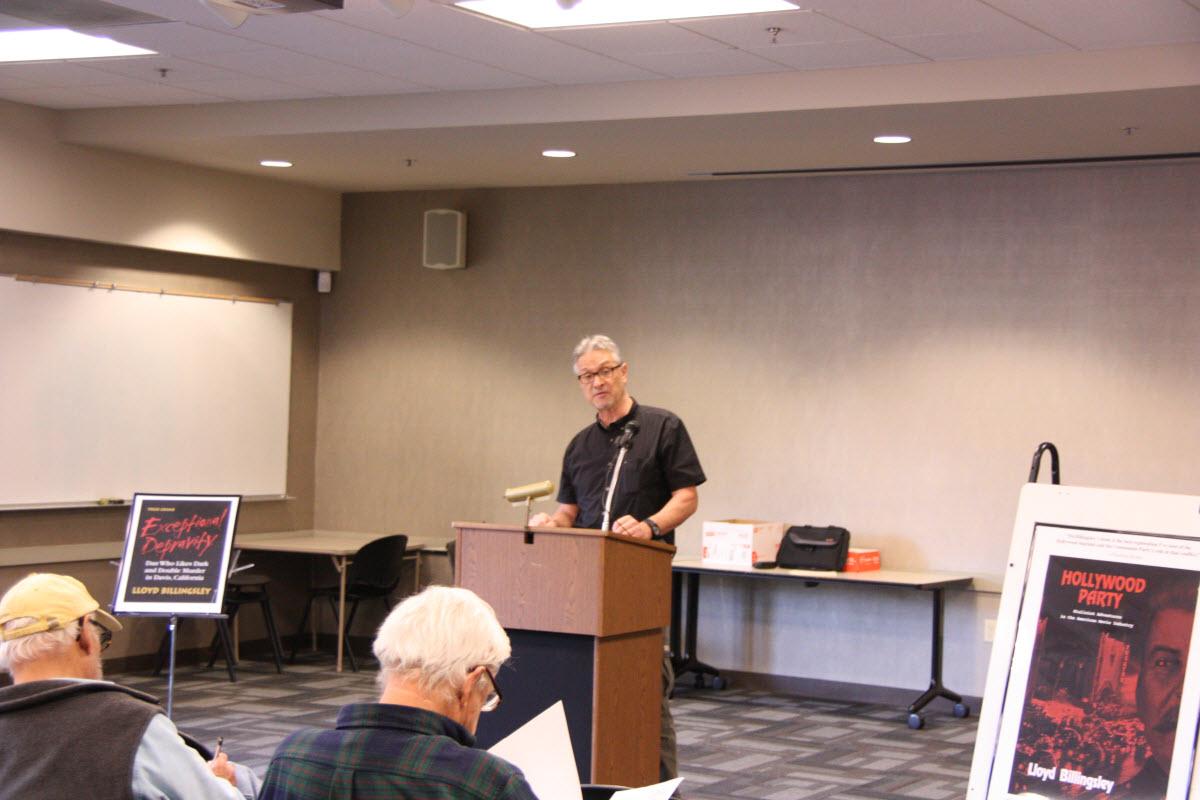 In November Mr. Billingsley spoke on his new book