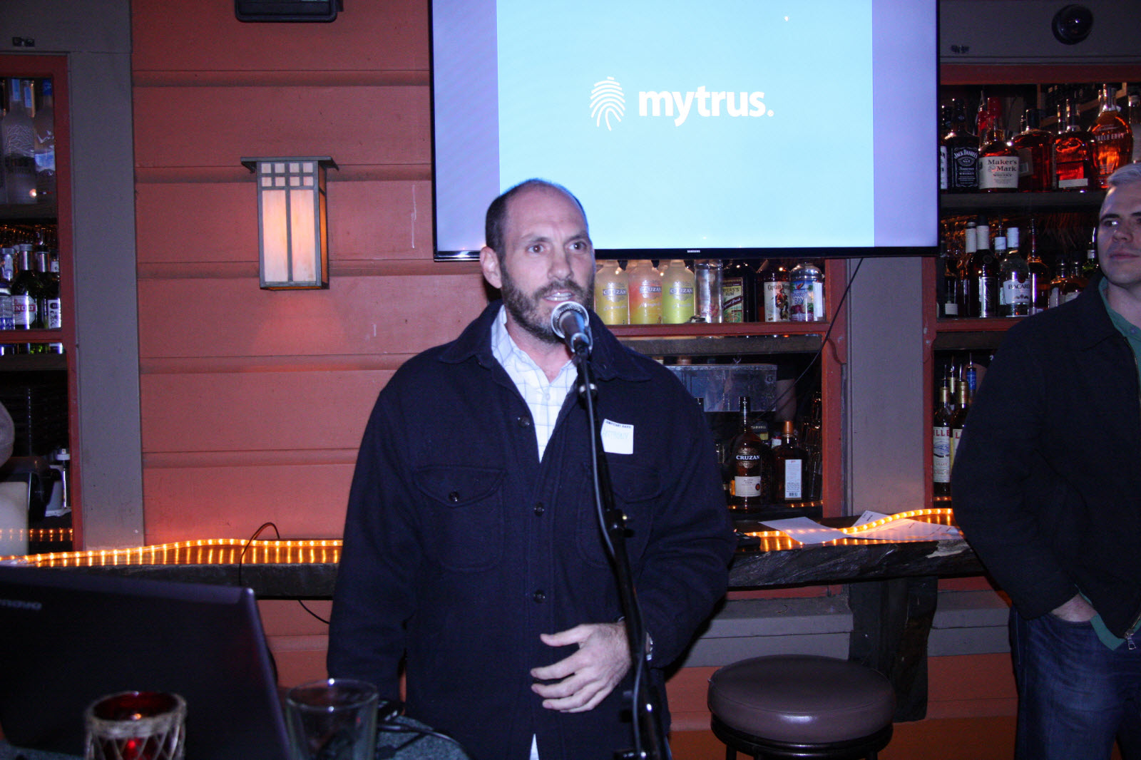 Anthony Costello presents on Mytrus