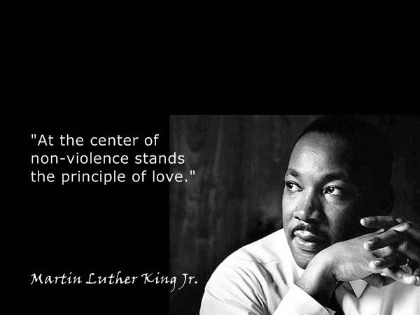 MLK-non-violence