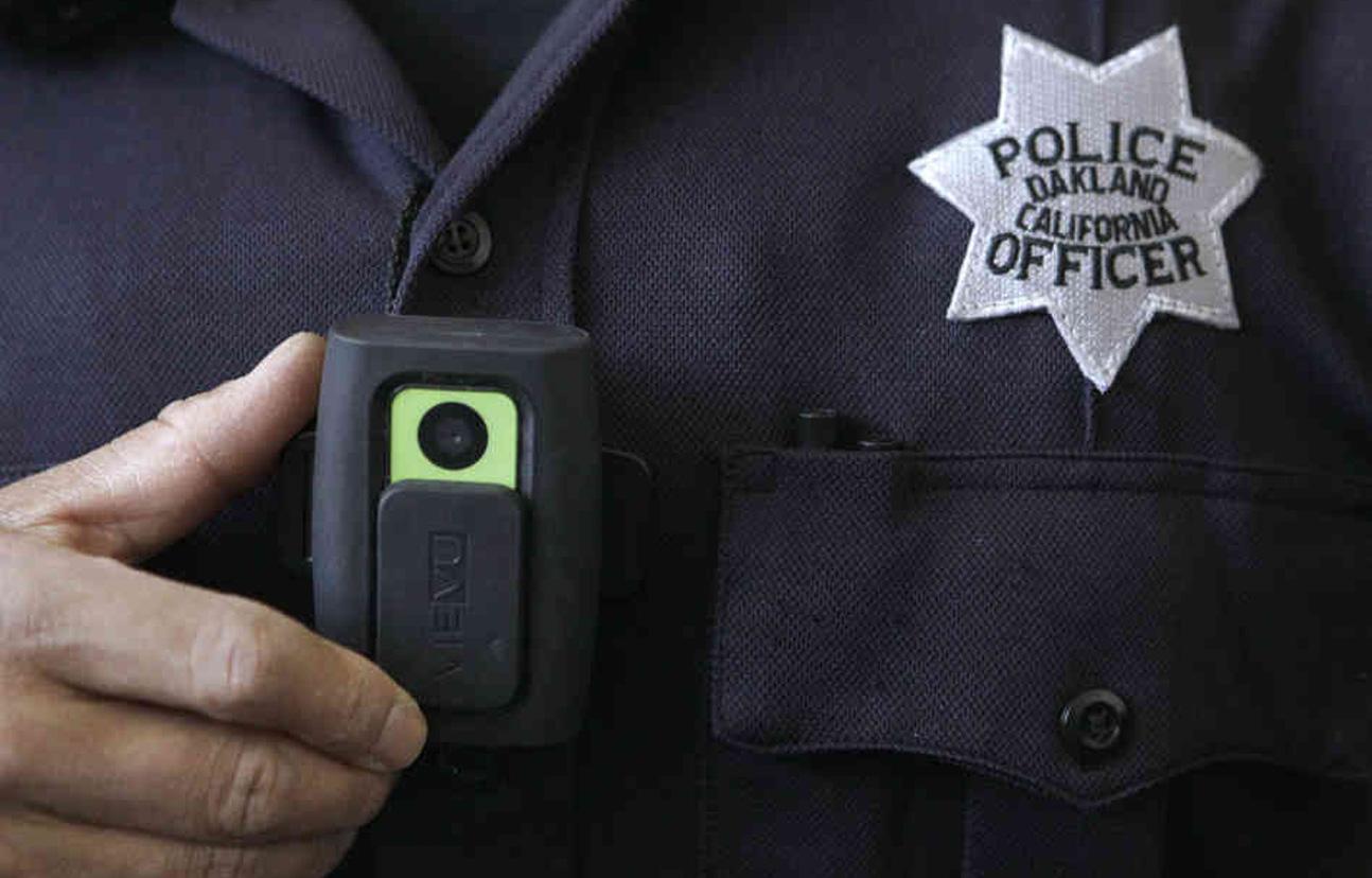 Police Body Camera Stock