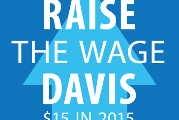 $15 Minimum Wage Issue Likely to Return to Davis