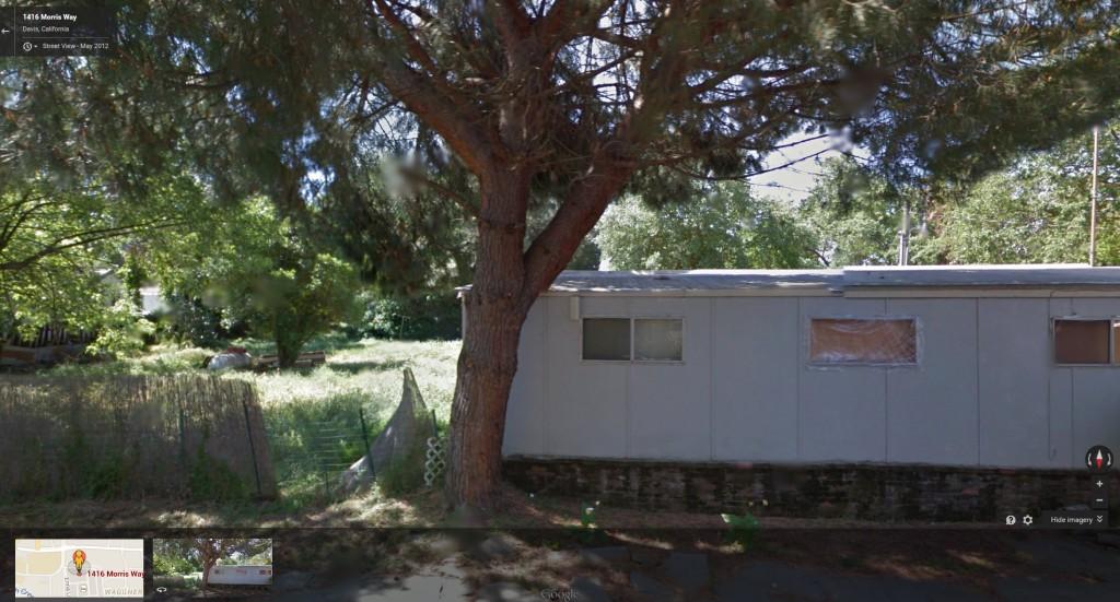 1416 Morris Way - Google Map, May 2012