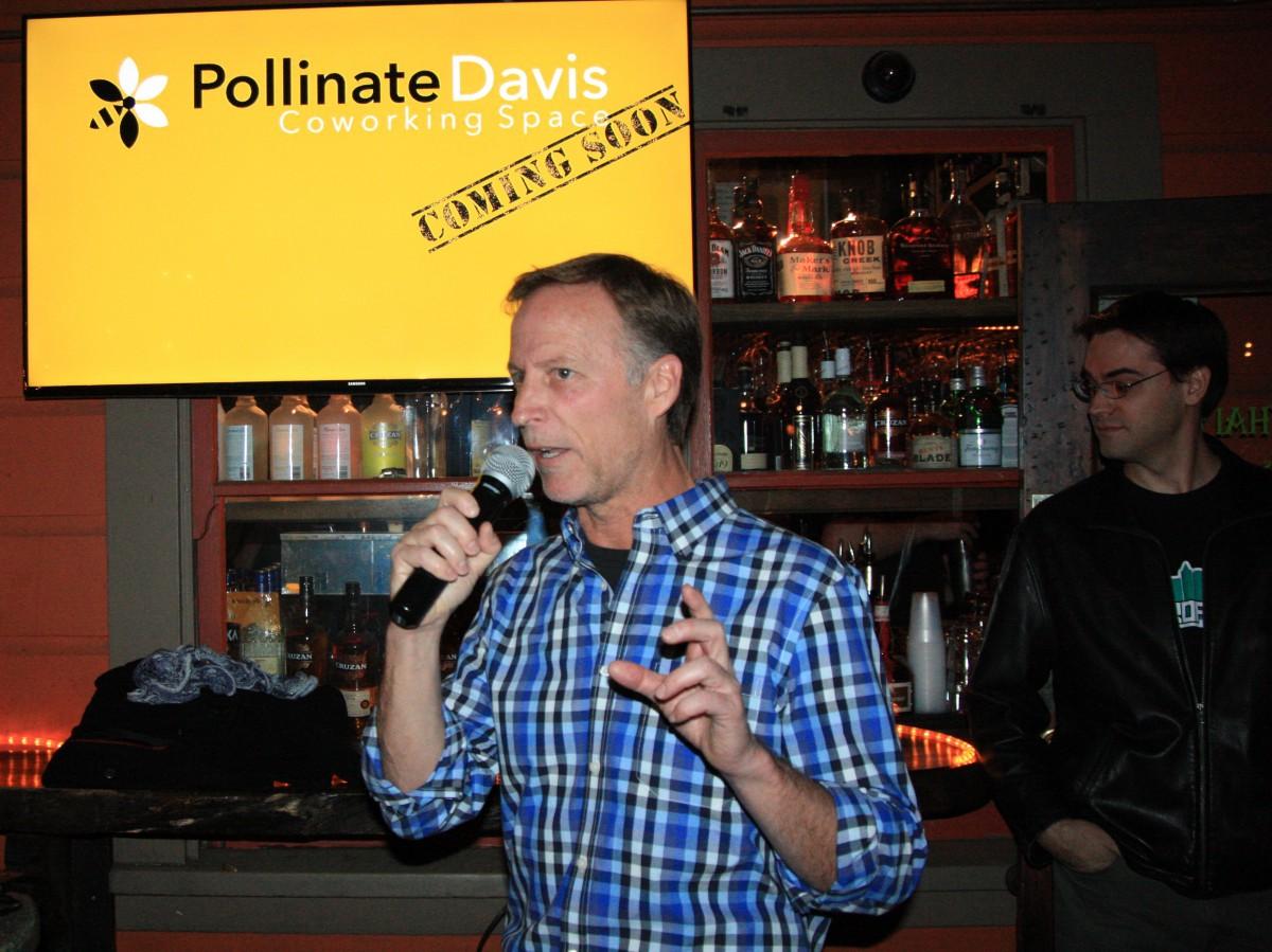 Michael Bisch discussing Pollinate Davis