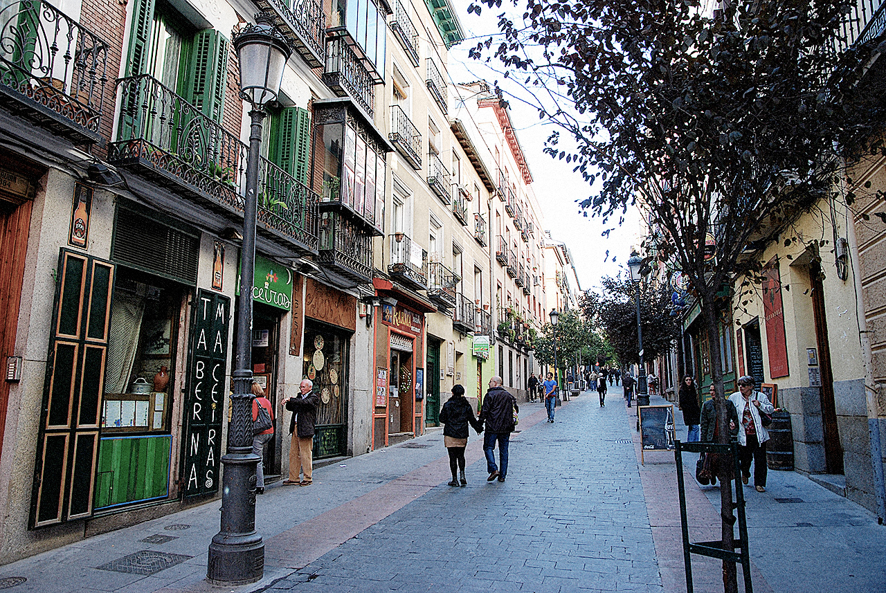 Madrid is one of seven parts of cities that have recently restricted cars