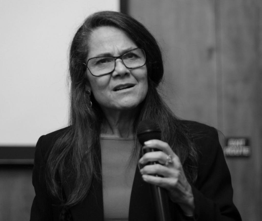 Maria Contreras Tebbutt spoke at TedX in Davis in January