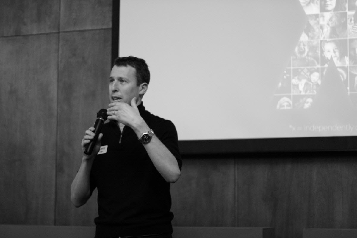 Davis Mayor Dan Wolk opened the TedX UC Davis event on Saturday at the Davis Oddfellows