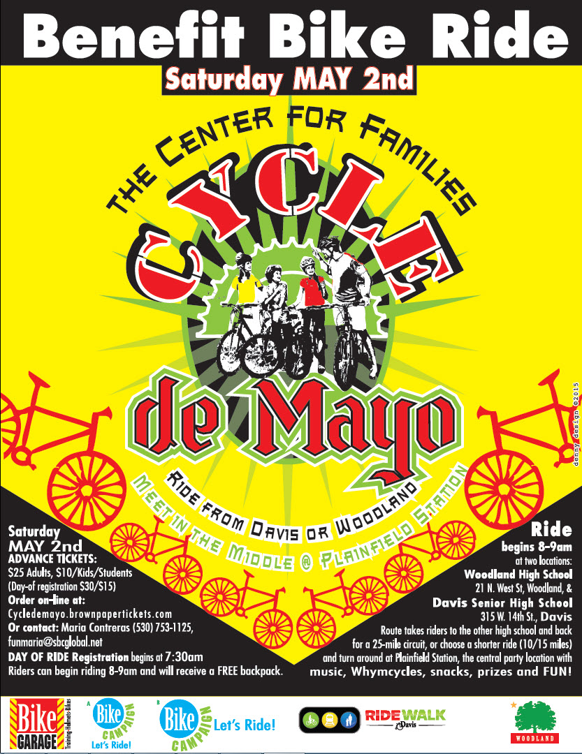 CYCLE DE MAYO BENEFIT BIKE RIDE