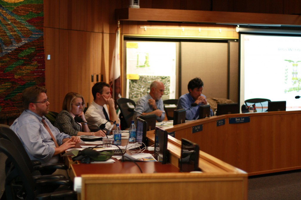 Council listens to the presentation