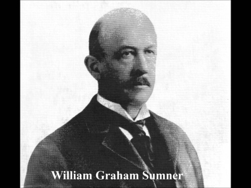William Graham Sumner was an American Sociologist who helped popularize social darwin theories