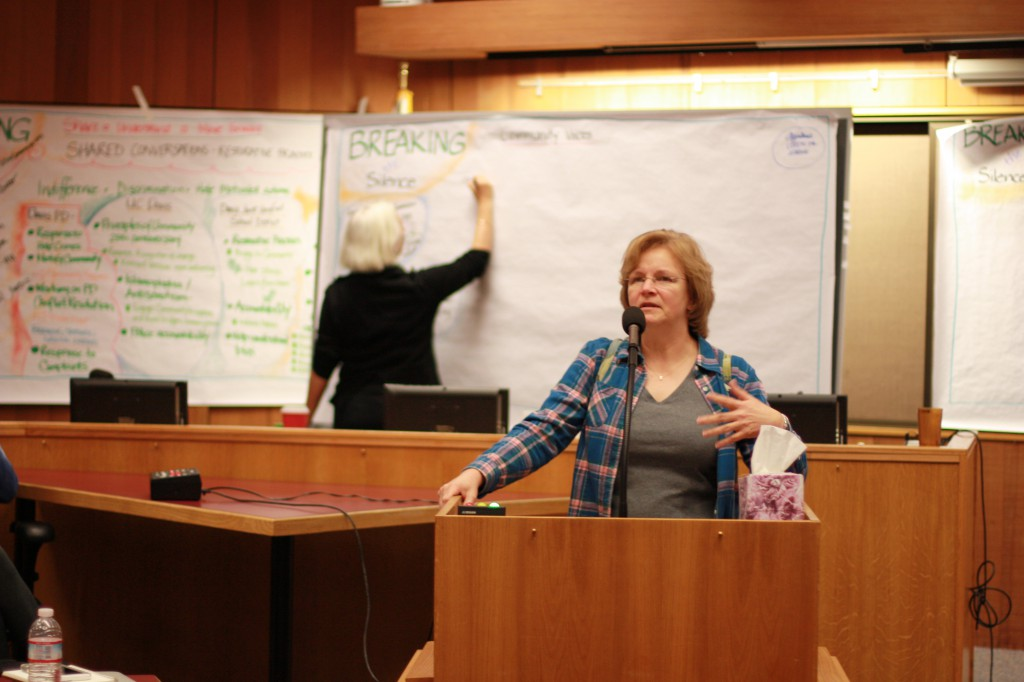Community Member Teresa Geimar talks about her experiences