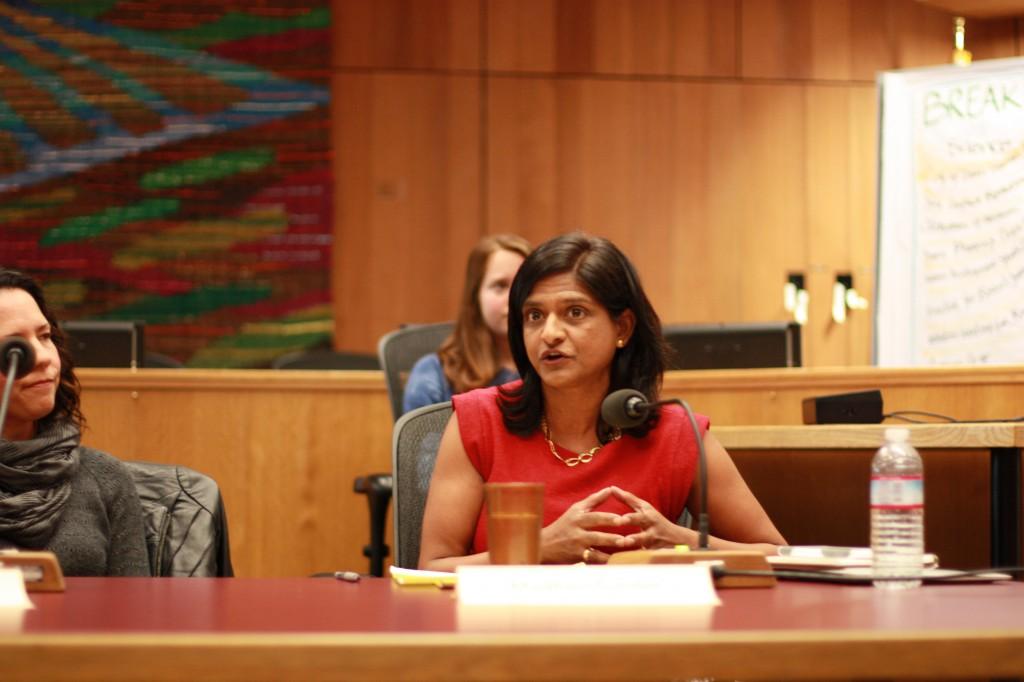 School Board Member Madhavi Sunder