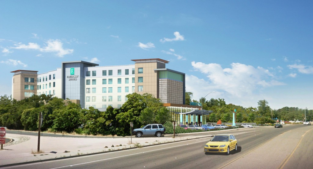 Hotel Conference Center Plans Are Revised