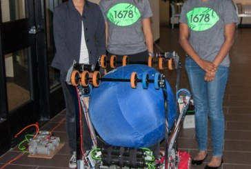 Cal HS Students Compete to Qualify in International Robotics Championship