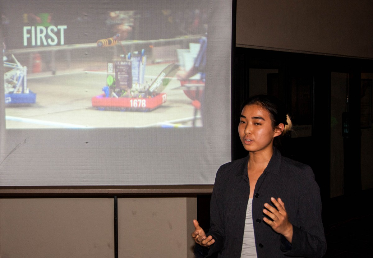 Elise Wong from Citrus Circuits talks about robotics
