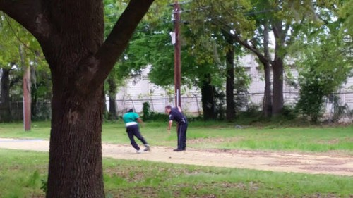 Walter Scott unarmed black man was chased and shot by a police officer in South Carolina