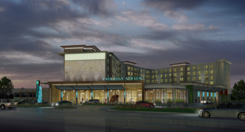 Proposed Hotel Conference center on Richards