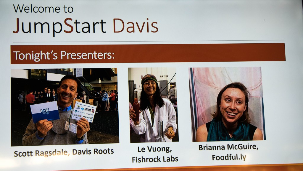 Three More Highlight Local Startups at JumpStart Davis