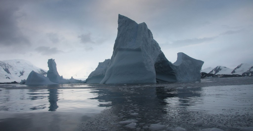 Antarctica's Larsen B Ice Shelf is likely to shatter into hundreds of icebergs before the end of the decade, according to a new NASA study. Credits: NSIDC/Ted Scambos.