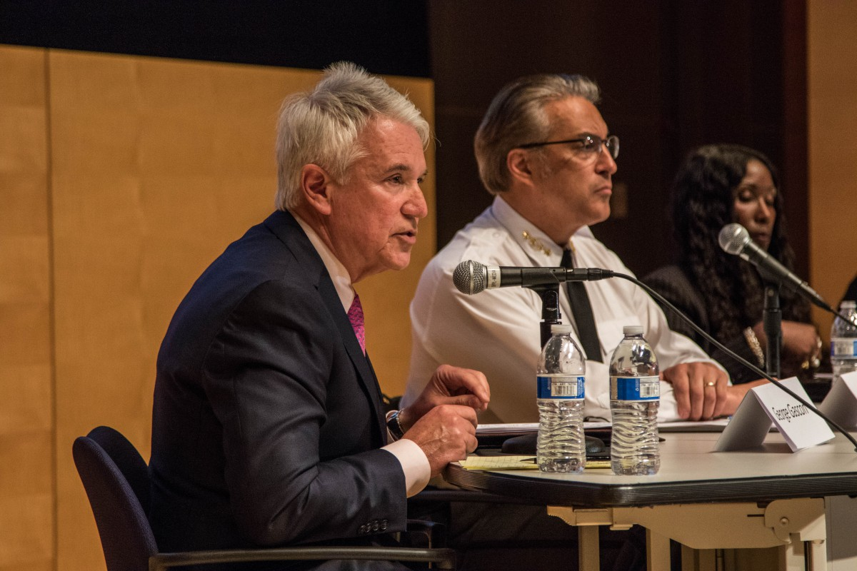San Francisco District Attorney George Gascon speaks at the Public Defender's Justice Seminar this past spring