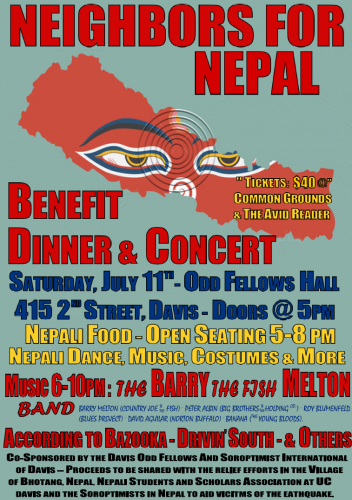 Area Nepali Restaurants and Nepali Students Pledge Food for Earthquake Benefit