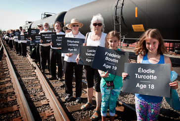 Gearing Up for Another Oil Train Protest